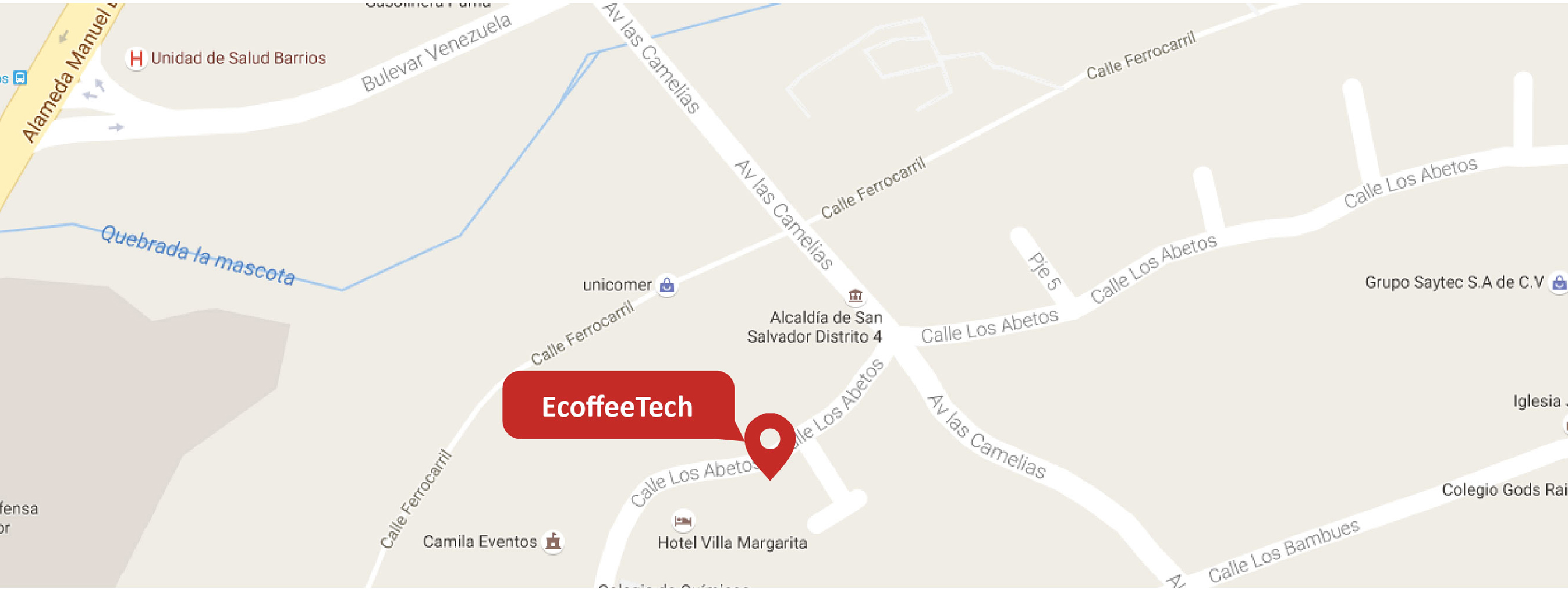 mapa e-coffe tech